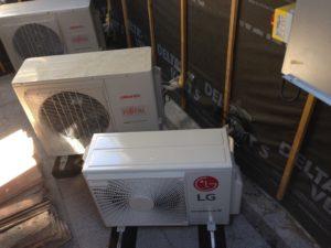 Photo réalisation de climatisation réversible split - LG - Atlantic - Fujitsu